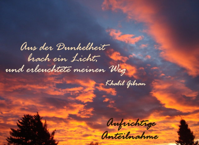 Abschied &Tod